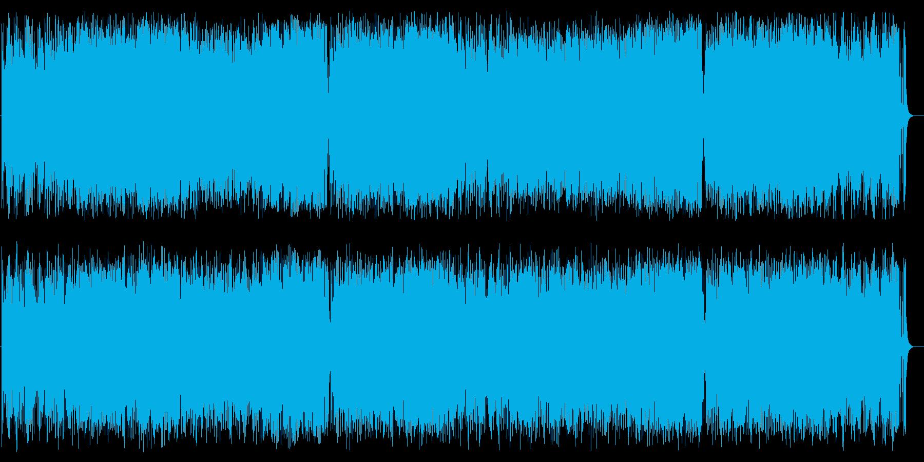 元気がもらえるどこか懐かしい曲調の再生済みの波形