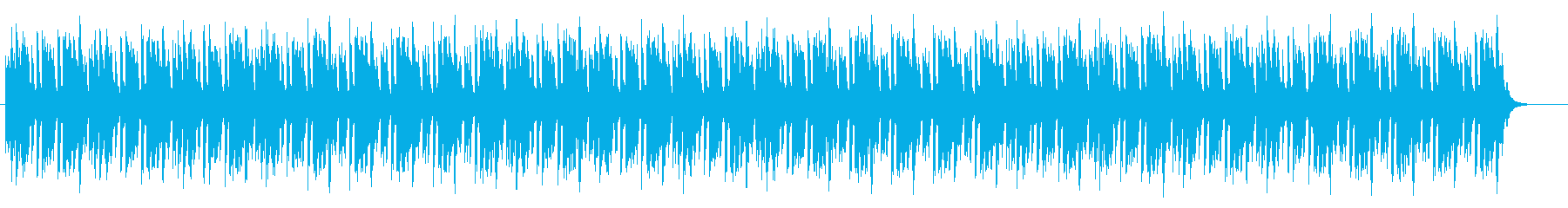 Bright and monotonous electric's reproduced waveform
