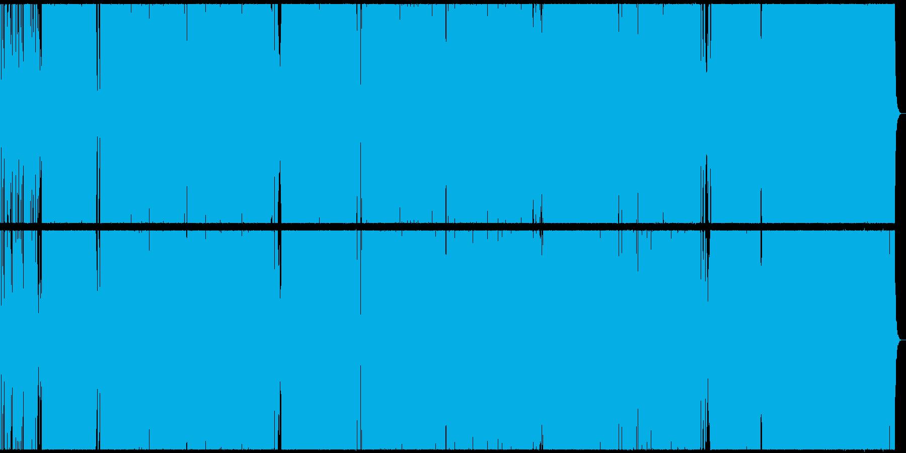シックでダンサブルなハウス調ラップ曲の再生済みの波形