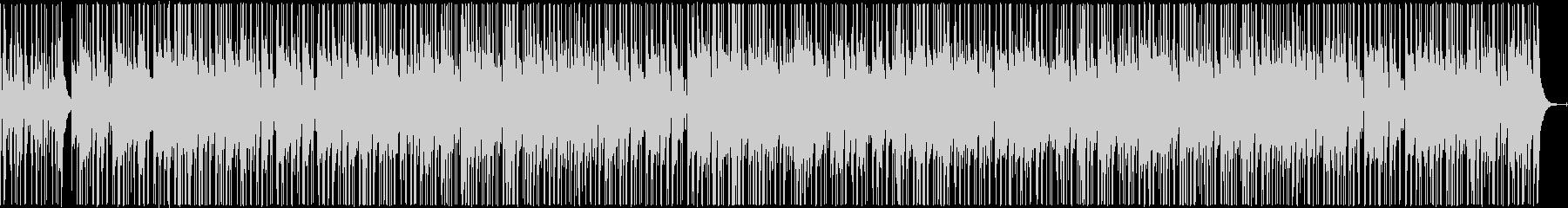 軽快なカシオペア風ジャズファンクの未再生の波形