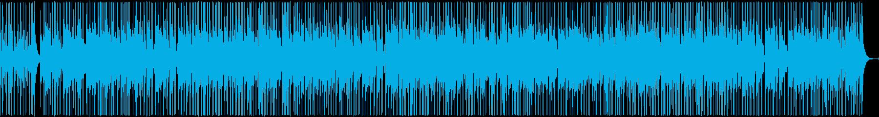 軽快なカシオペア風ジャズファンクの再生済みの波形