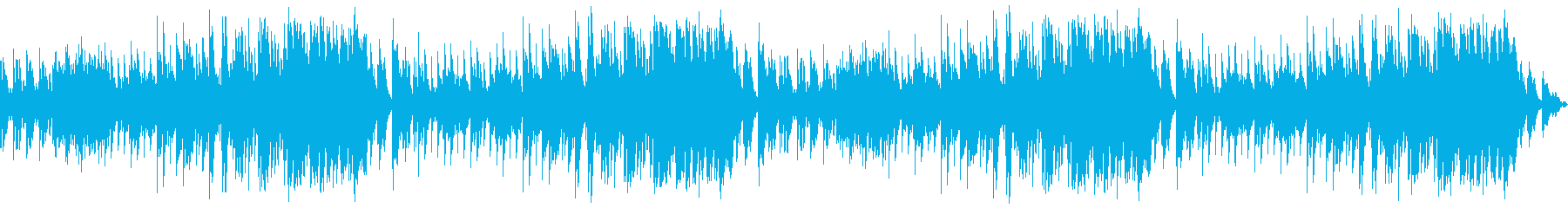 優しいピアノバラードによるBGMの再生済みの波形