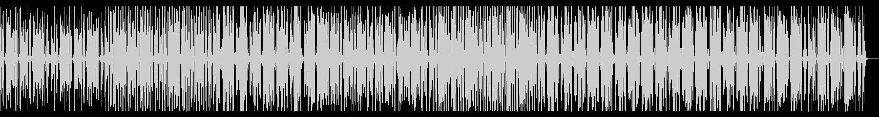 オールドスクール風ヒップホップの未再生の波形