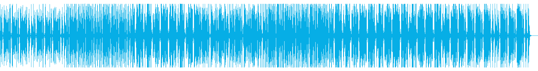 オールドスクール風ヒップホップの再生済みの波形