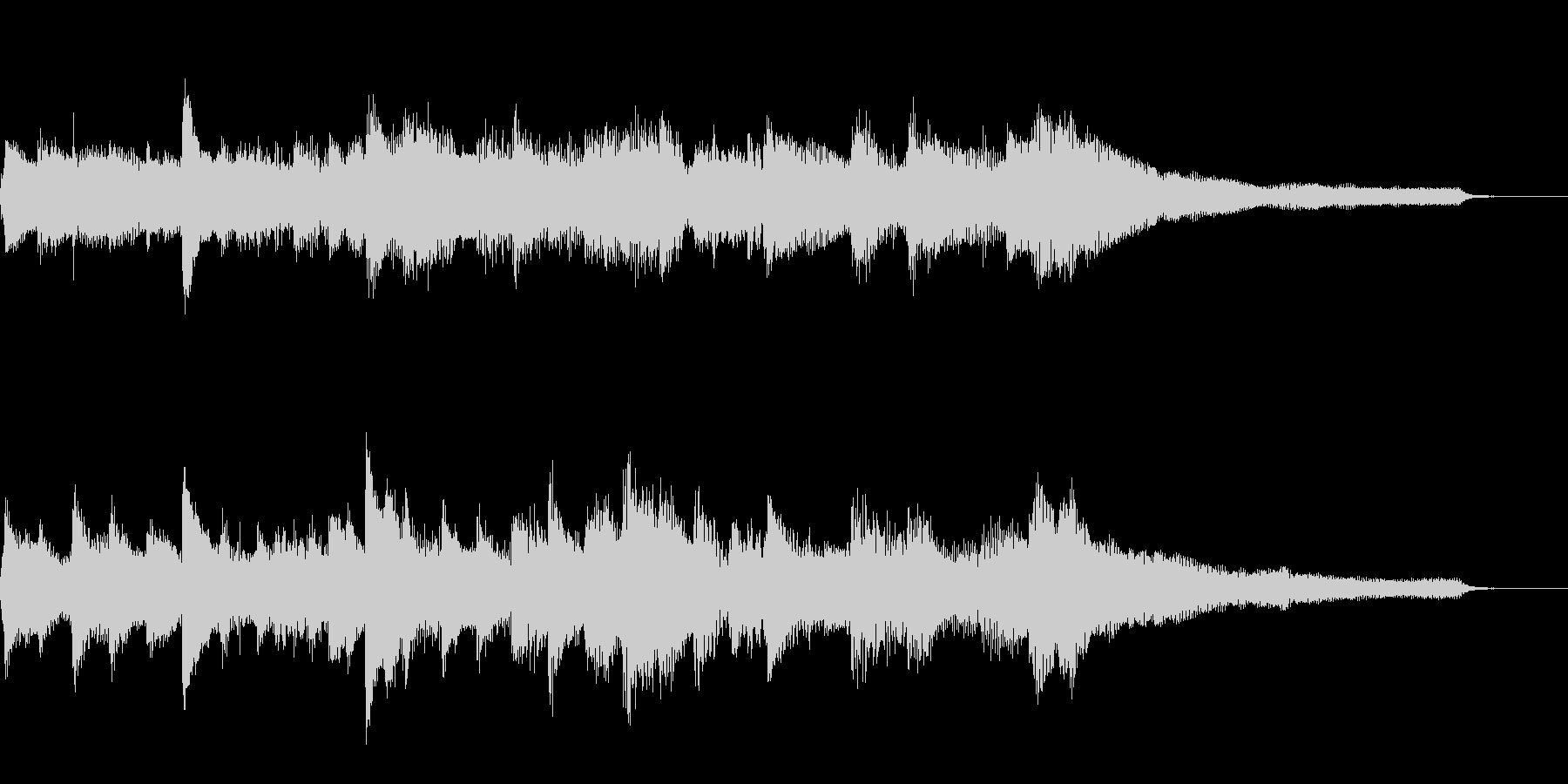 クラシック風ジングル30-ピアノソロ の未再生の波形