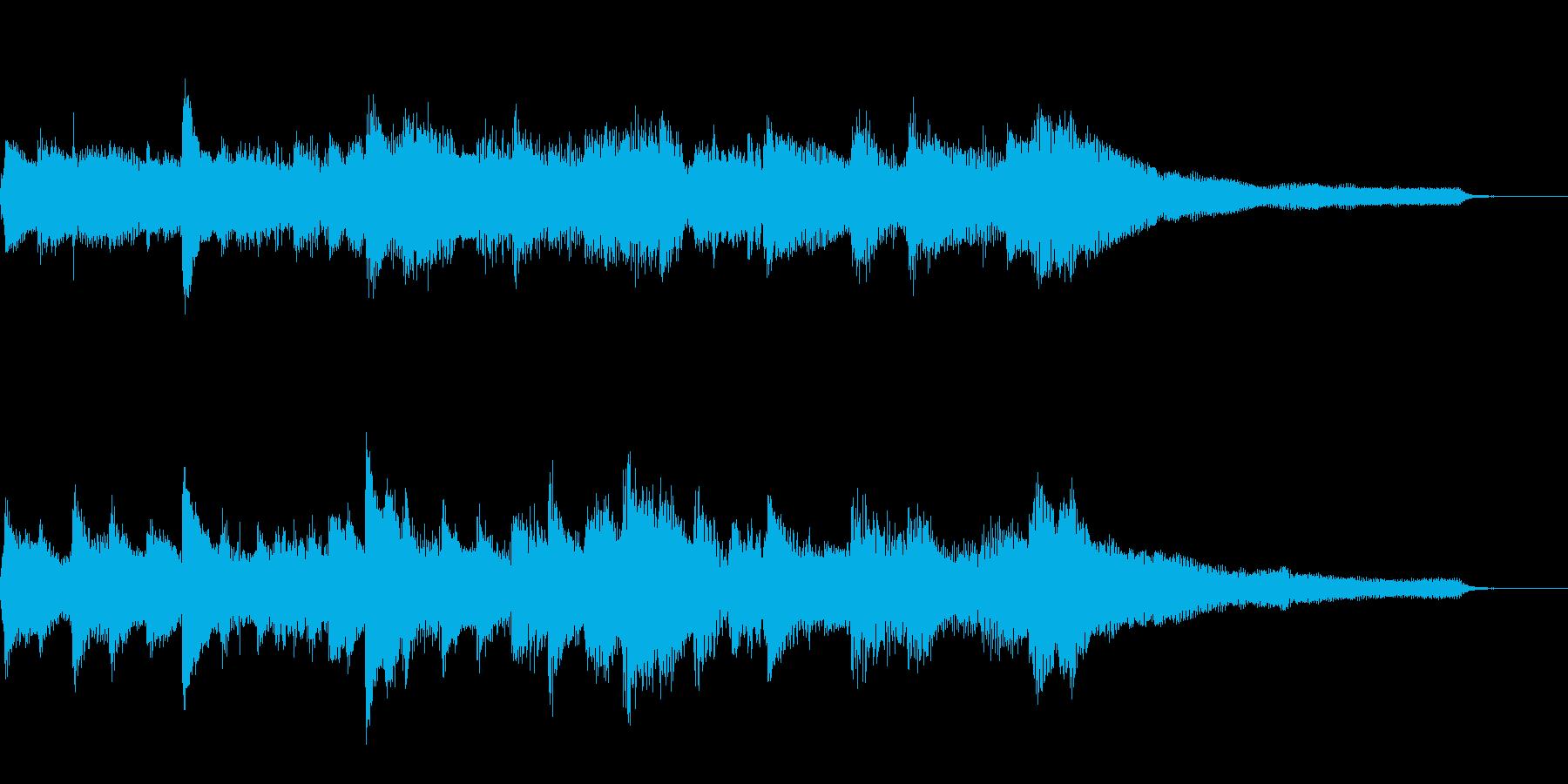 クラシック風ジングル30-ピアノソロ の再生済みの波形