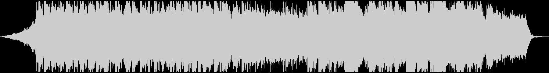 エモーショナルなピアノストリングスBGMの未再生の波形
