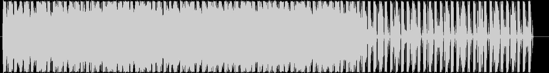 スローテンポなループ音源の未再生の波形
