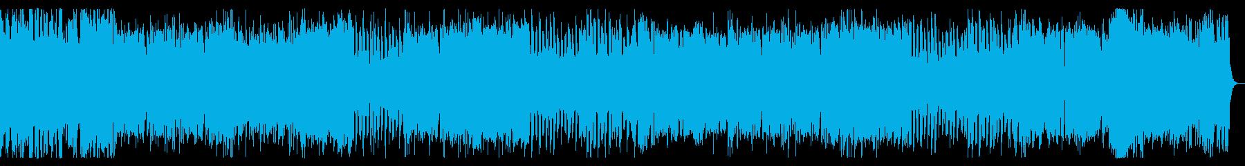 ポップでファンタジックなチップチューンの再生済みの波形