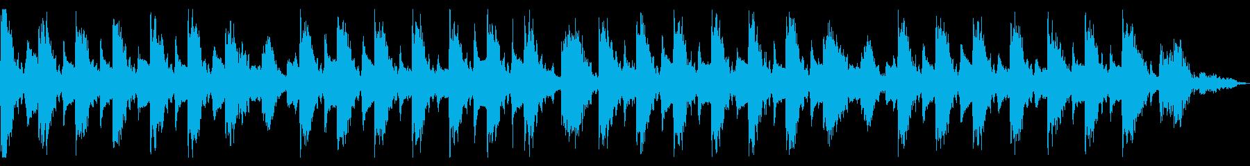 ピタゴラスイッチ風BGM《サウンドロゴ》の再生済みの波形