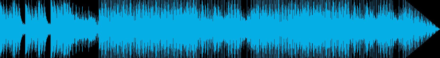 ピクニックに行っている様な雰囲気のBGMの再生済みの波形