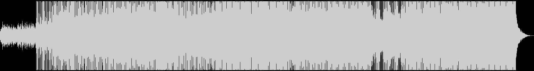 クールなマイナーキーのEDM風BGMの未再生の波形