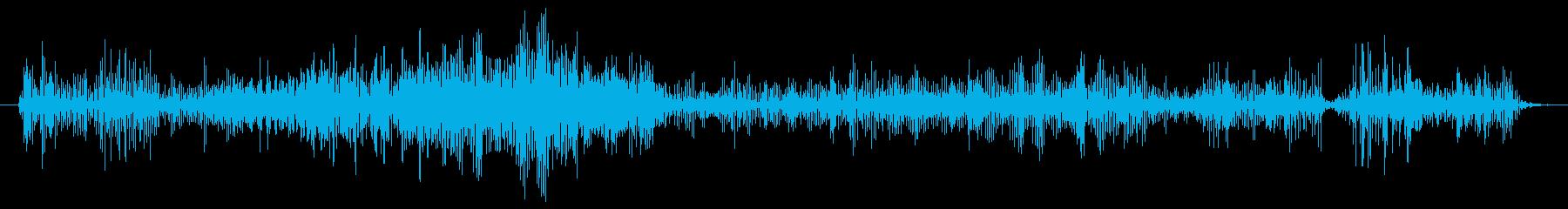 ノイズ ランブルグリッチロング03の再生済みの波形