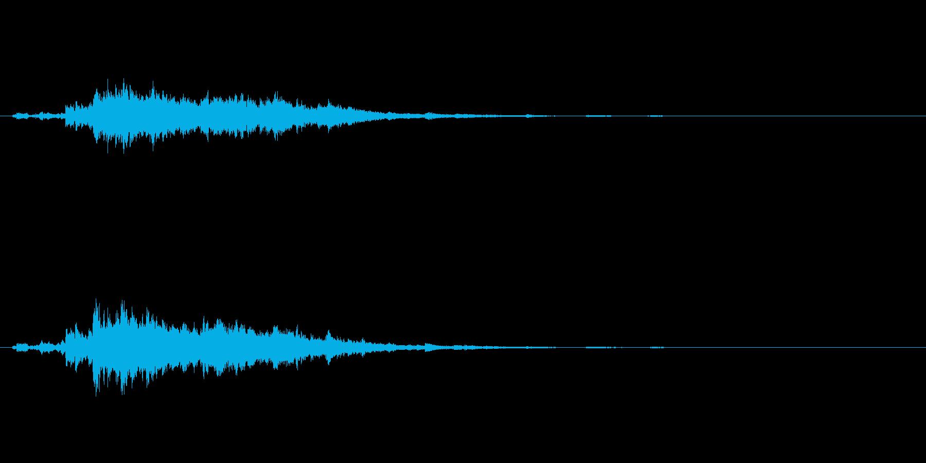 シャラシャラーの再生済みの波形