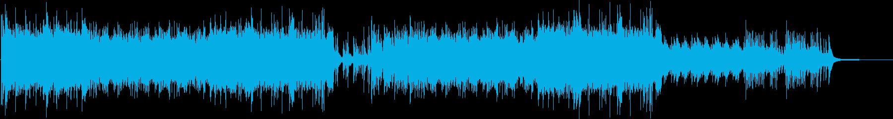 ピアノと弦楽器の軽快なインスト曲の再生済みの波形