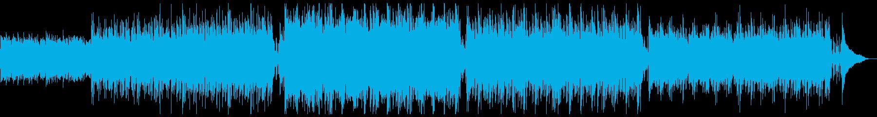 ハリウッド風ダークバイオリンx1回の再生済みの波形