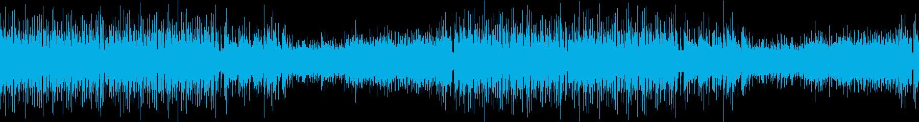 三味線・琴・尺八・爽やか幻想的和風EDMの再生済みの波形