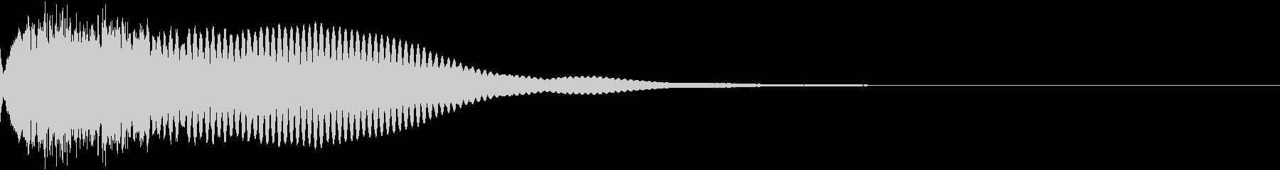 カットイン テロップ 商品 割引 06の未再生の波形