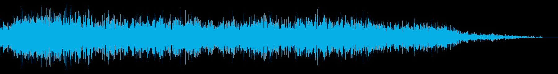 恐竜の叫び声 短め1の再生済みの波形