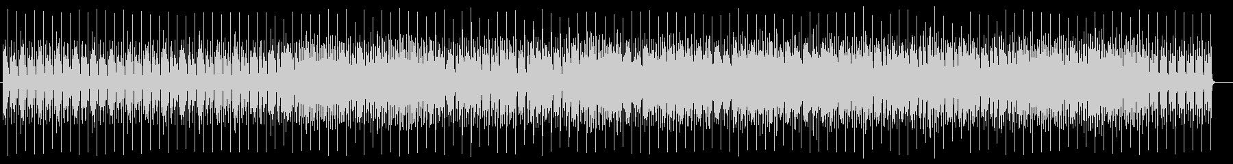 落ち着いたテンポのクセのないポップスの未再生の波形