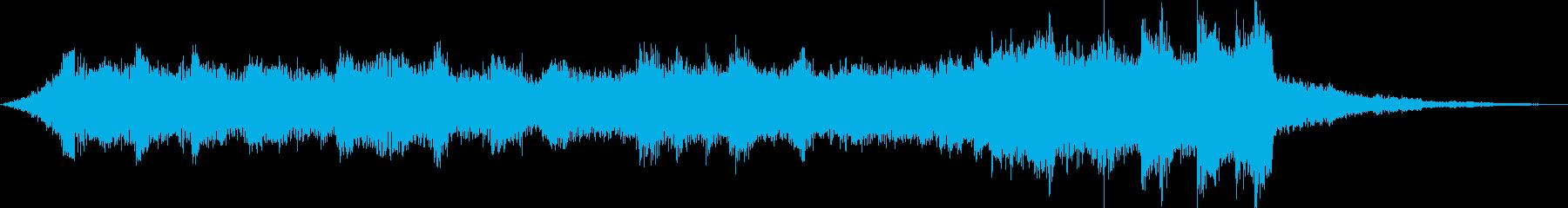 チルアウト雄大なトロピカルハウスfの再生済みの波形