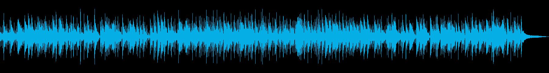 秋を感じるマンドリンソロBGMの再生済みの波形