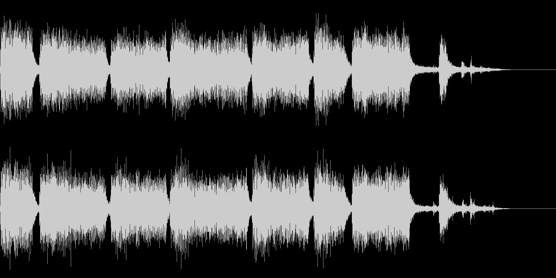 ドドドドドドドド(重機の音)の未再生の波形