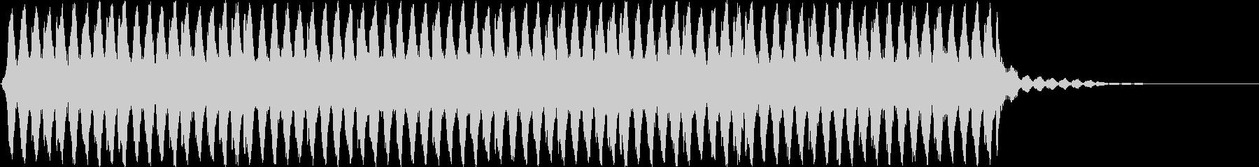 ホラー・サスペンス向けの不気味な効果音の未再生の波形