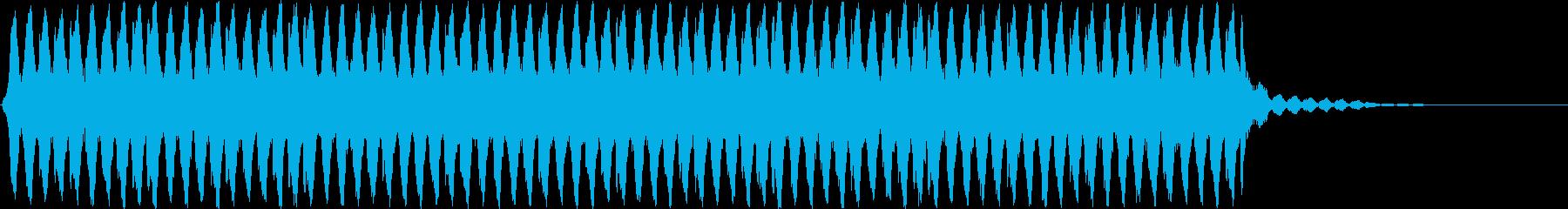 ホラー・サスペンス向けの不気味な効果音の再生済みの波形