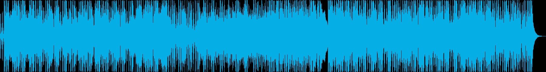 インド風エキゾチックサウンドの再生済みの波形