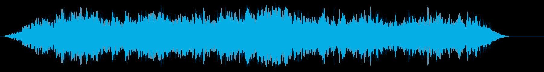 バッスルライオット0-40の再生済みの波形