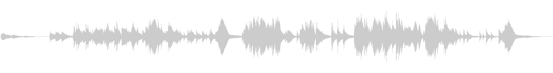 天の川 七夕 7月7日 ピアノの未再生の波形