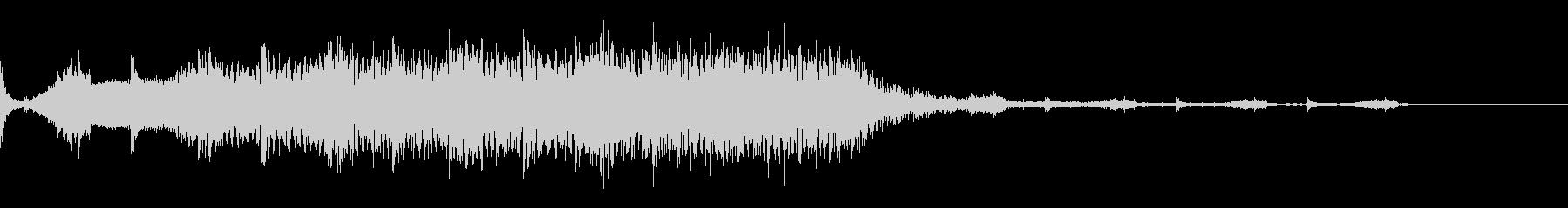 占う5 ホラー 不気味な音 ホワ〜ンの未再生の波形