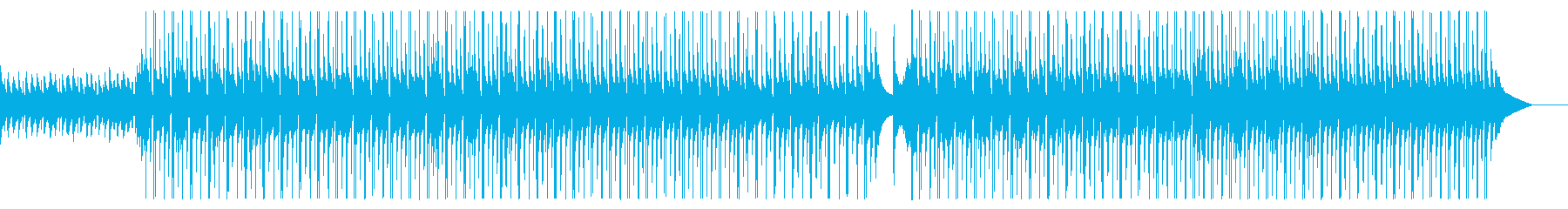 【日常系】ベルが可愛い陽気な曲の再生済みの波形