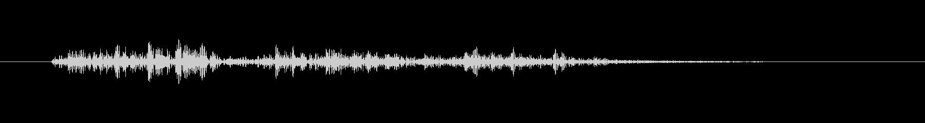 【生録音】ステンレス・スプーンの音 6の未再生の波形