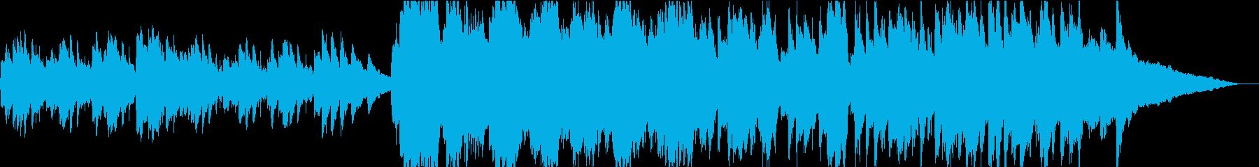 【生演奏】流れるフレーズのピアノバラードの再生済みの波形