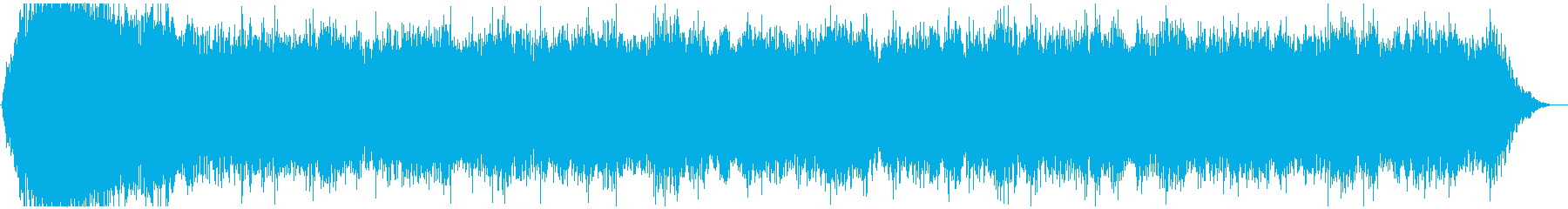 ドローン M ノイズ01の再生済みの波形