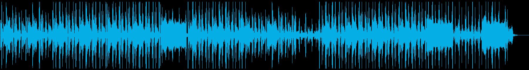 アンニュイな雰囲気のレゲエ、ダブBGMの再生済みの波形