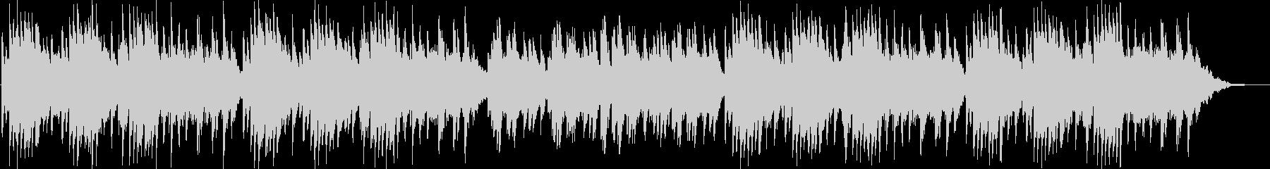 切ない雰囲気のピアノソロBGMの未再生の波形