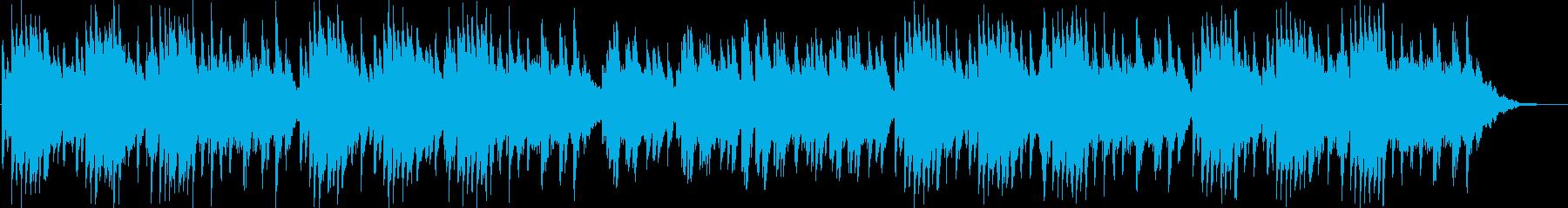 切ない雰囲気のピアノソロBGMの再生済みの波形