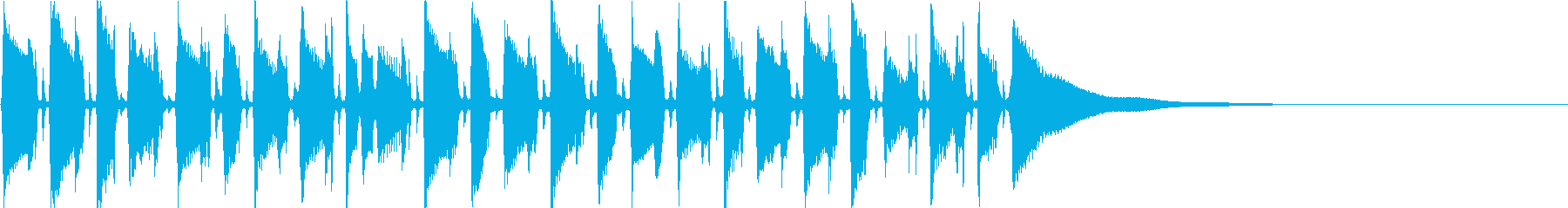 アコギによるジャズポップスの再生済みの波形