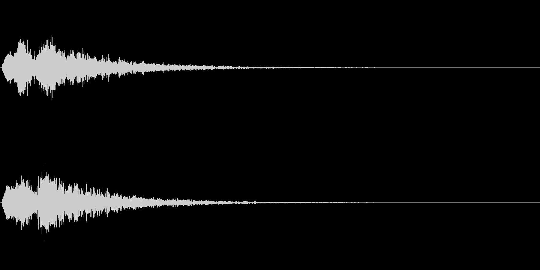 Vox 不気味な鳴き声 ホラーSE 7の未再生の波形