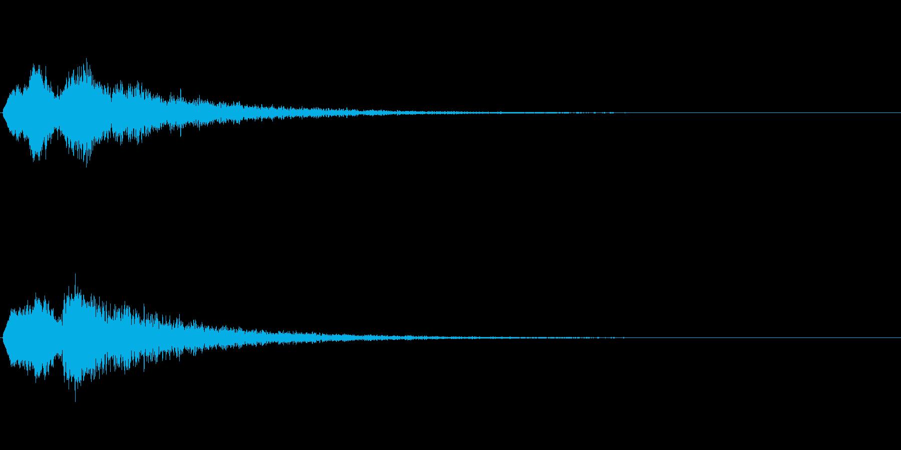 Vox 不気味な鳴き声 ホラーSE 7の再生済みの波形