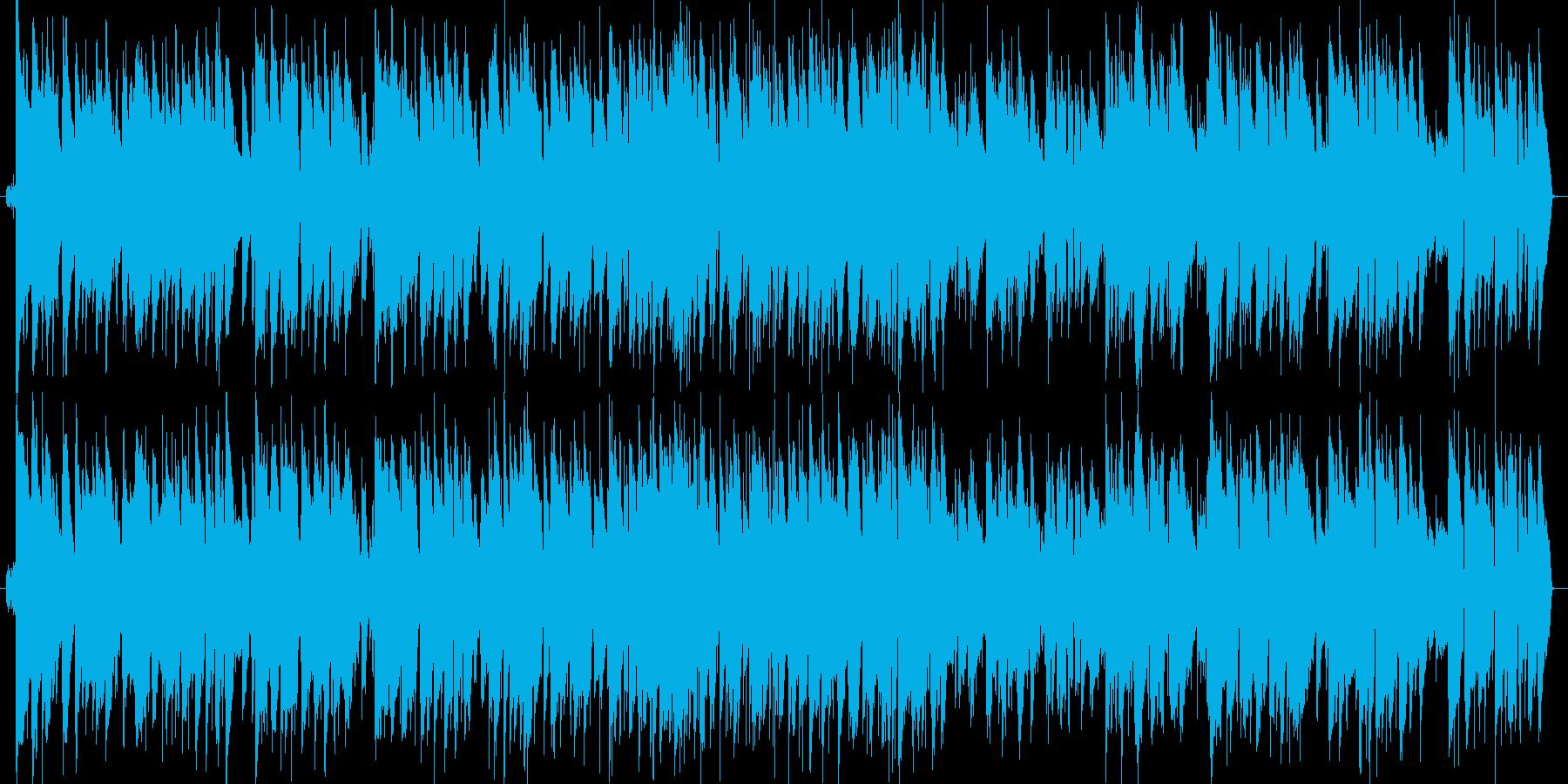 赤とんぼのジャズピアノの再生済みの波形