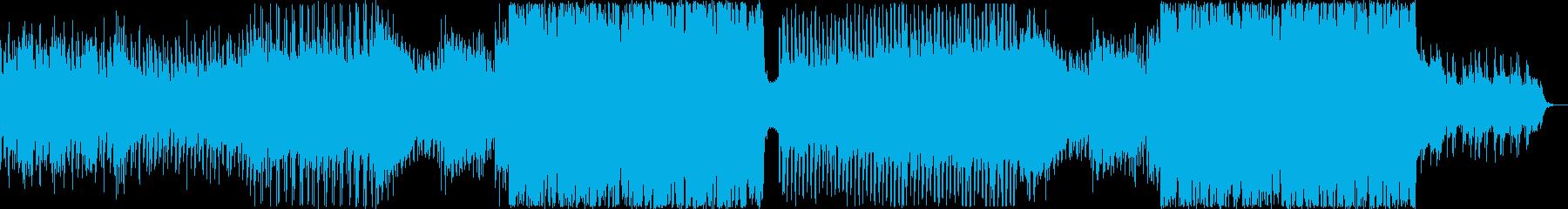 力強くも美しいストリングスメインEDMの再生済みの波形