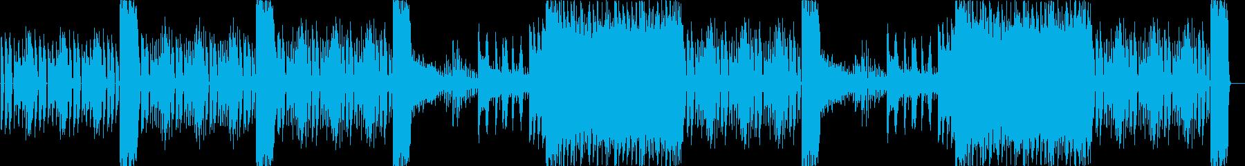 洞窟、ダンジョン、暗く切なく悲しい曲cの再生済みの波形