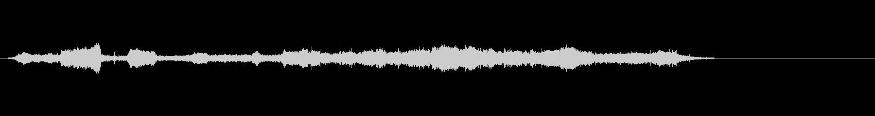 群集(20、000):ホイッスル/...の未再生の波形