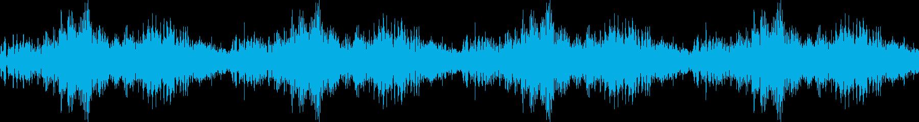 アラート音 LOOP有り 危険度高の再生済みの波形
