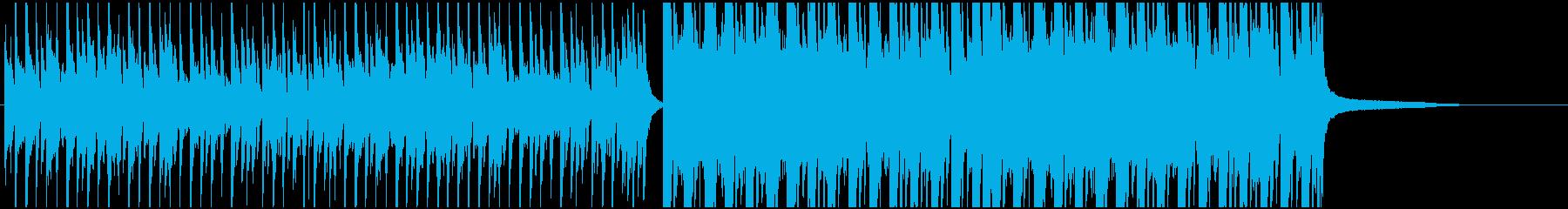 かわいいエレクトロの再生済みの波形