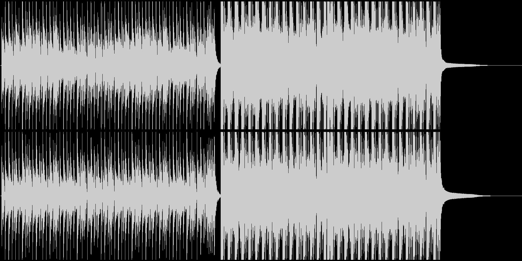 かわいいエレクトロの未再生の波形